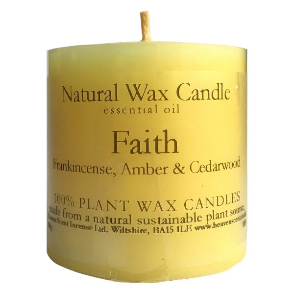 Heaven Scent Essential Oil Candle - Faith