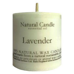 Heaven Scent Essential Oil Candle - Lavender