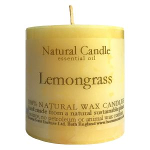 Heaven Scent Essential Oil Candle - Lemongrass