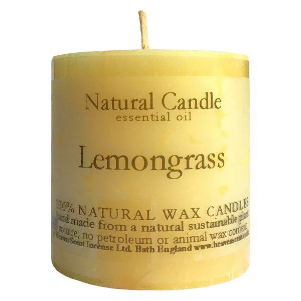 Heaven Scent Essential Oil Candle - Lemongrass