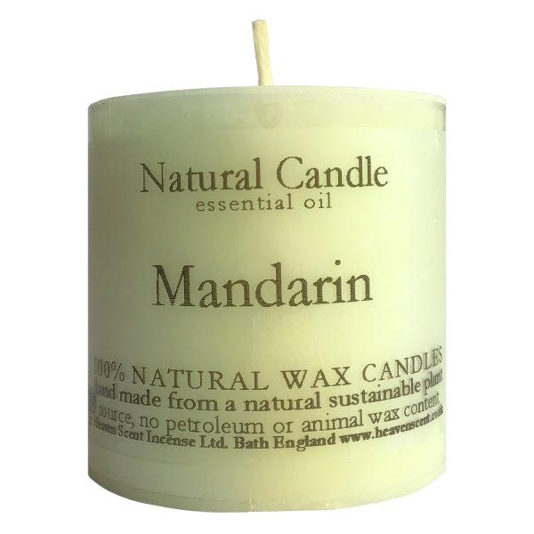 Heaven Scent Essential Oil Candle - Mandarin