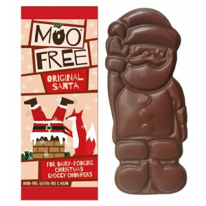 Moo Free Chocolate Santa