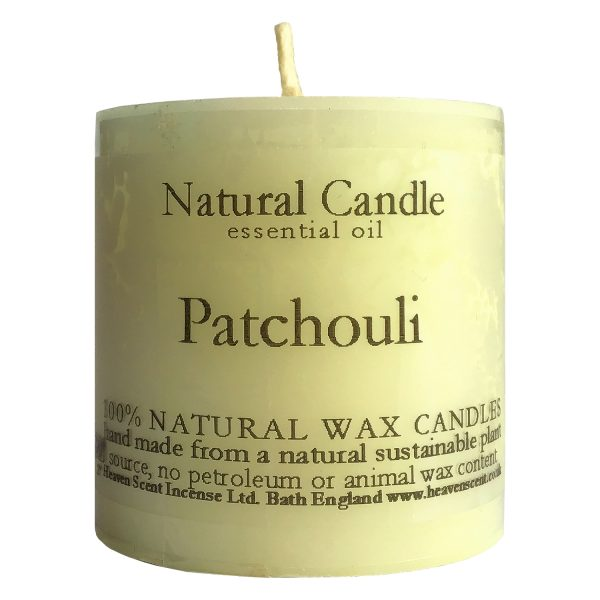 Heaven Scent Essential Oil Candle - Patchouli
