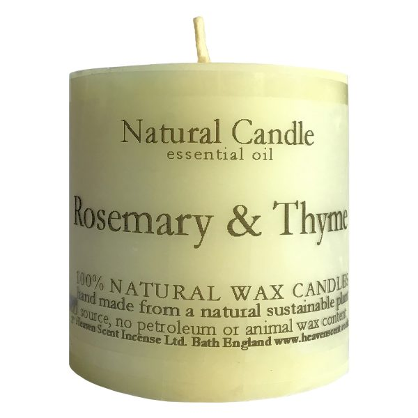 Heaven Scent Essential Oil Candle - Rosemary & Thyme
