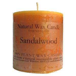 Heaven Scent Fragranced Candle - Sandalwood