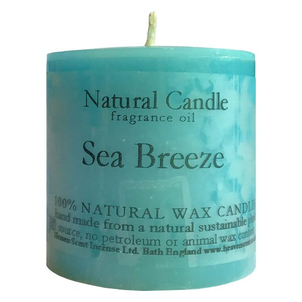 Heaven Scent Fragranced Candle - Sea Breeze