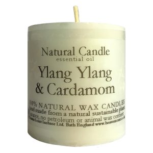 Heaven Scent Essential Oil Candle - Ylang Ylang & Cardamom