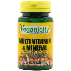 Veganicity Multivitamin + Mineral