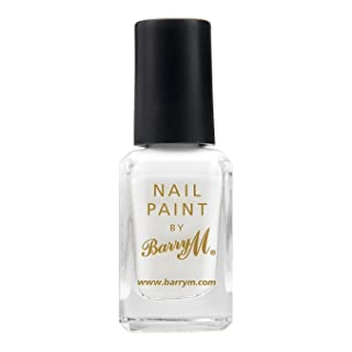 Barry M Cosmetics Nail Paint - Matt White (no. 66)