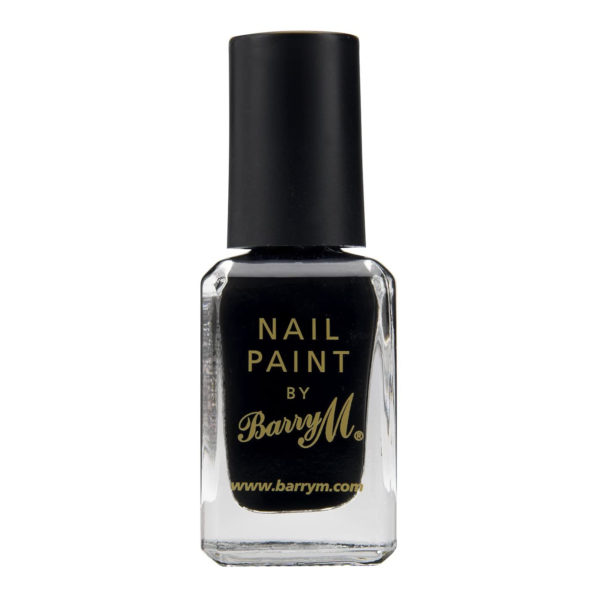 Barry M Cosmetics Nail Paint - Black (no. 47)