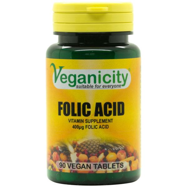Veganicity Folic Acid