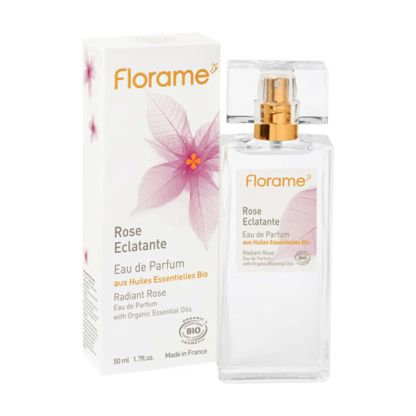 Florame Natural Vegan Perfume - Radiant Rose