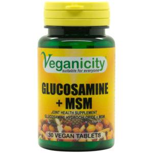 Veganicity Glucosamine + MSM
