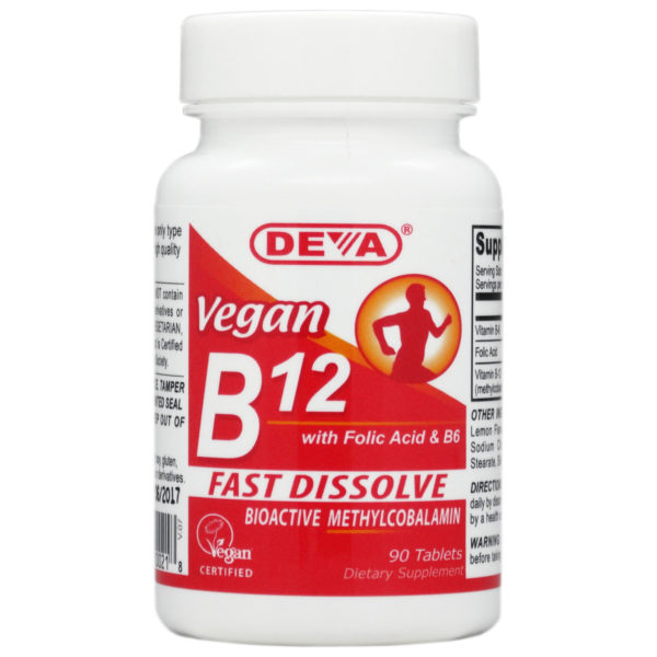 Deva Vegan Vitamin B12 - 1000mcg