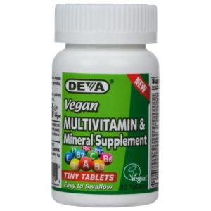 Deva Vegan Tiny Tablets Multivitamin & Mineral