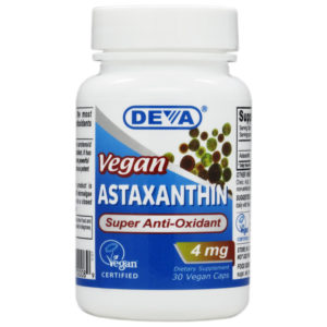 Deva Vegan Astaxanthin - 4mg
