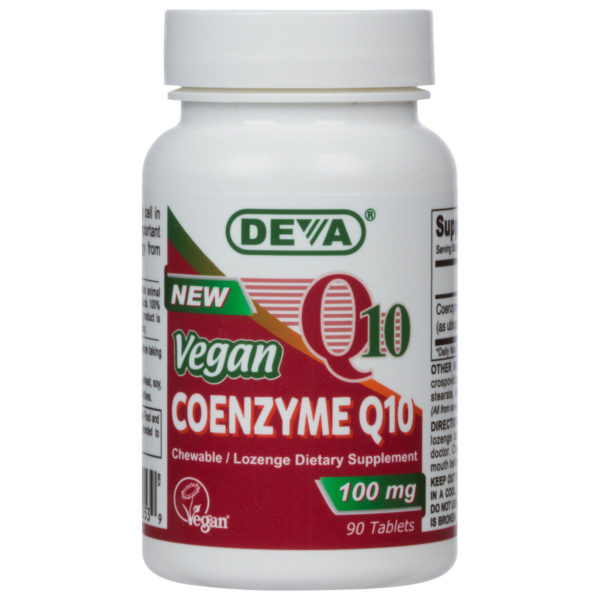Deva Vegan Co-Enzyme Q10 (Chewable) - 100mg
