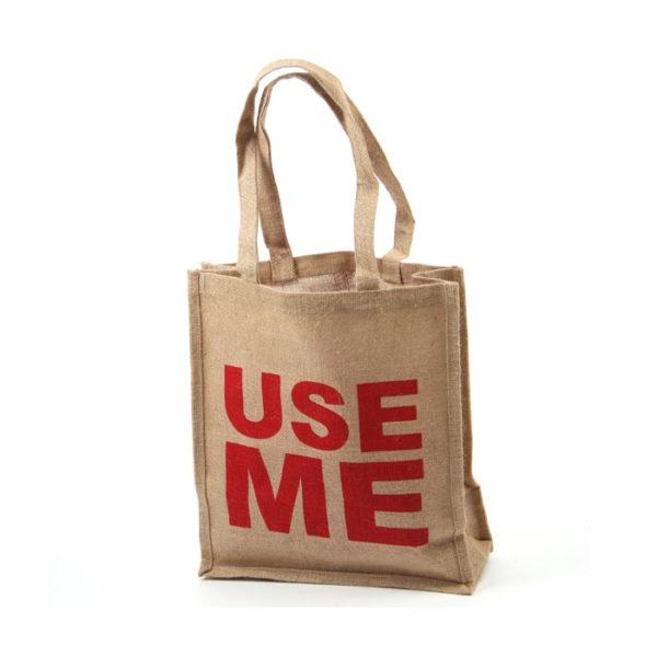 Jute Shopping Bag - Use Me