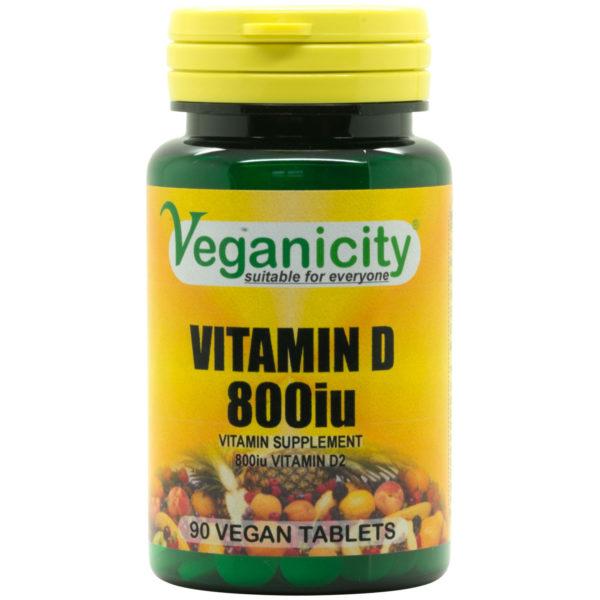 Veganicity Vitamin D - 800iu