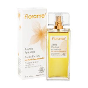 Florame Natural Vegan Perfume - Precious Amber