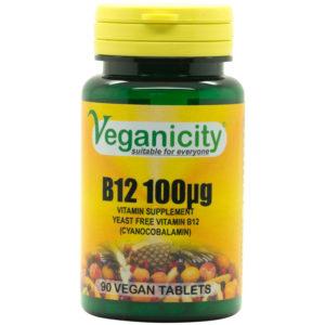 Veganicity Vitamin B12 - 100mcg