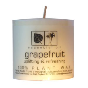 Heaven Scent Essential Oil Candle - Grapefruit