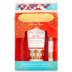 Pacifica Take Me There Gift Set - Indian Coconut Nectar