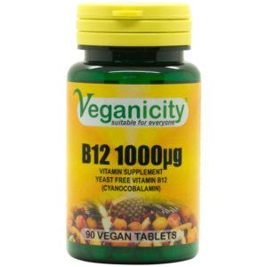 Veganicity Vitamin B12 - 1000mcg