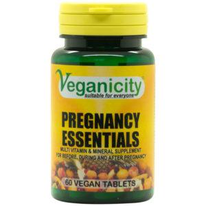 Veganicity Pregnancy Essentials