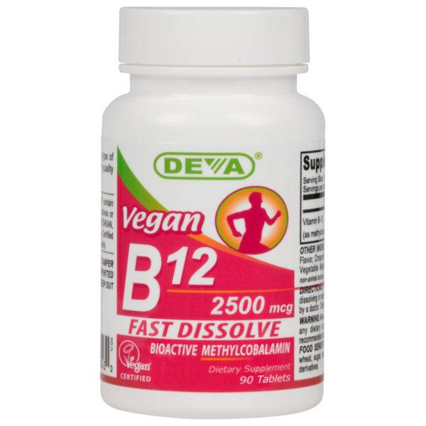Deva Vegan Vitamin B12 - 2500mcg