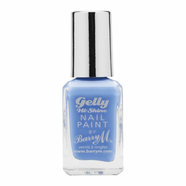 Barry M Cosmetics Gelly Hi Shine Nail Paint - Blueberry (no. 5)