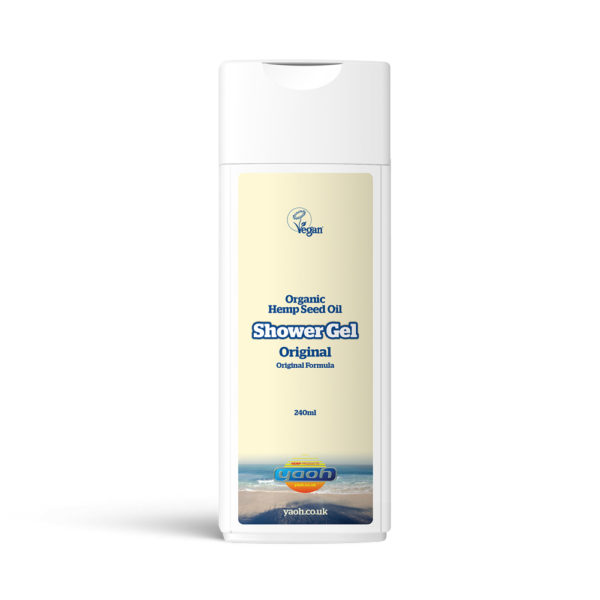 Yaoh Organic Hemp Seed Oil Shower Gel - Original