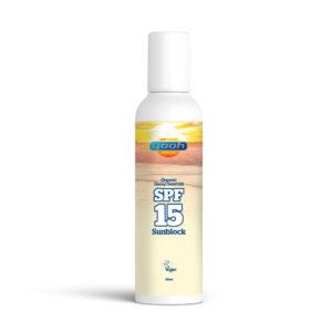 Yaoh Organic Hemp Seed Oil Sun Block - SPF15