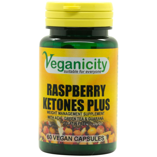 Veganicity Raspberry Ketones Plus