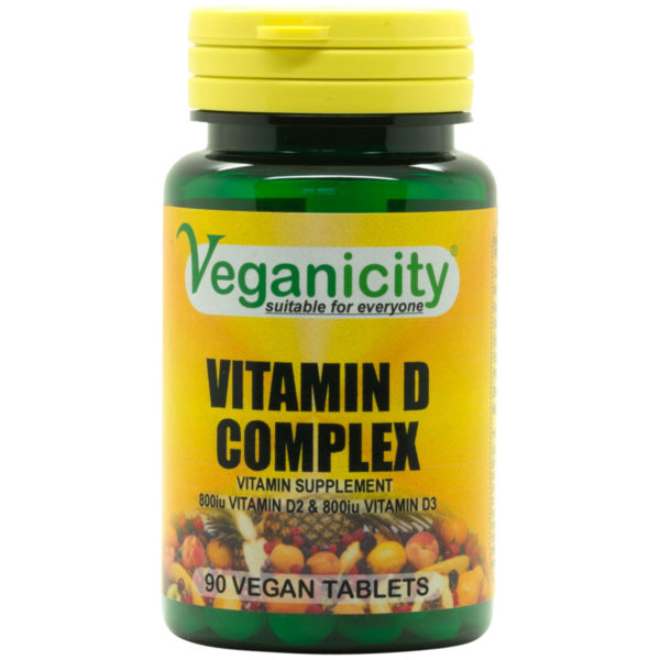 Veganicity Vitamin D Complex 1600