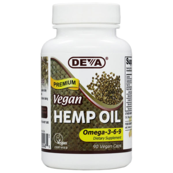 Deva Vegan Hemp Oil