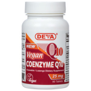 Deva Vegan Co-Enzyme Q10 (Chewable) - 25mg