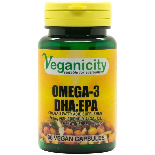 Veganicity Omega-3 DHA-EPA - 500mg