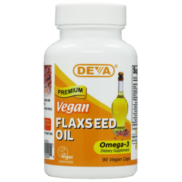 Deva Vegan Flaxseed Oil