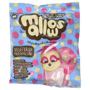 Freedom Mallows - Mini Mallows - Vanilla (Pink & White)