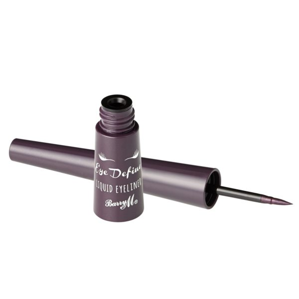 Barry M Cosmetics Eye Define Liquid Eyeliner - Plum (no. 14)
