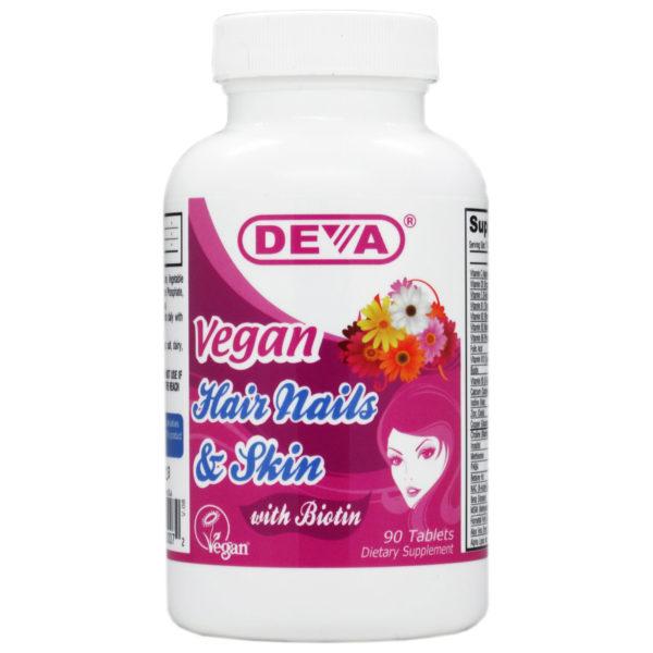 Deva Vegan Hair, Nails & Skin