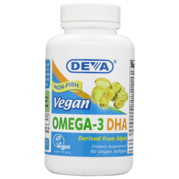 Deva Vegan Omega-3 DHA - Softgels