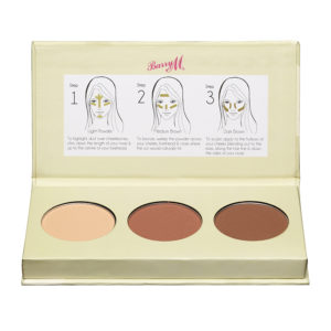 Barry M Cosmetics Chisel Cheeks Contour Kit - Light-Medium