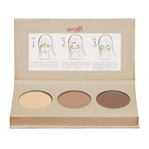 Barry M Cosmetics Chisel Cheeks Contour Kit - Medium-Dark