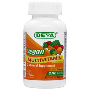 Deva Vegan One-a-Day Multivitamin & Mineral