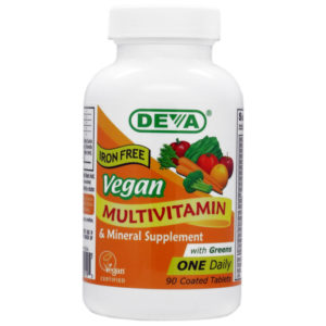 Deva Vegan One-a-Day Multivitamin & Mineral - Iron Free