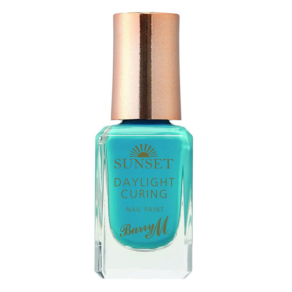Barry M Cosmetics Sunset Nail Paint - The Way You Make Me Teal (no. 5)