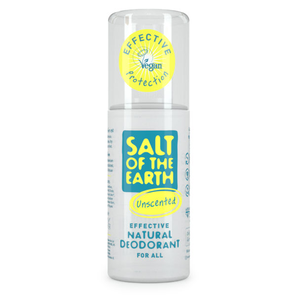 Salt of the Earth Natural Deodorant Spray - Unscented