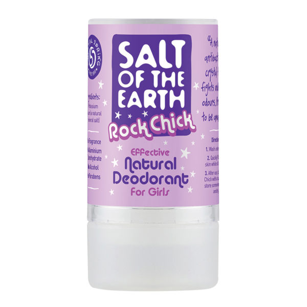 Salt of the Earth Rock Chick Natural Deodorant Stick